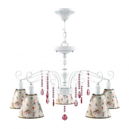 Люстра Lamp4you Provence E4-05-WM-LMP-O-14-CRL-E4-05-PK-DN