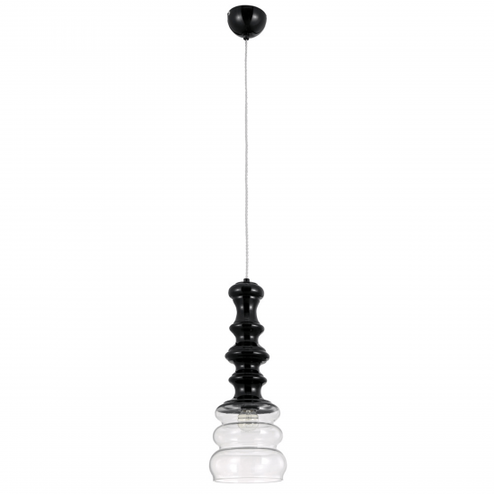 Светильник Crystal lux BELL SP1 BLACK