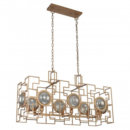 Люстра Crystal lux CUENTO SP8 L900 GOLD.17 ( Италия )