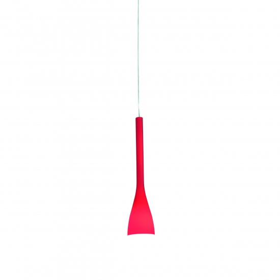 Светильник Ideal Lux FLUT SP1 SMALL ROSSO