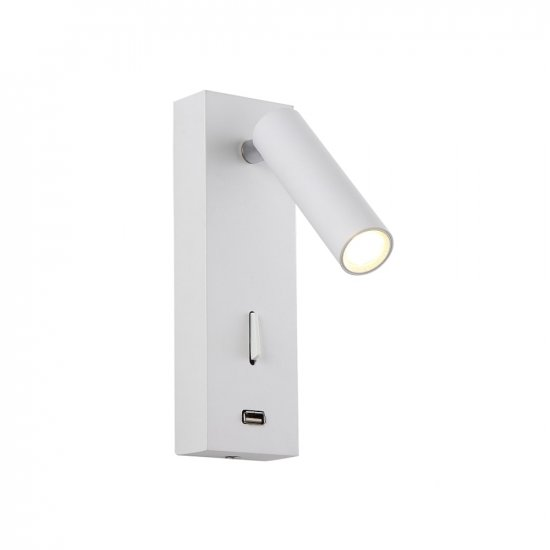 Светильник Crystal lux  CLT 210W USB WH
