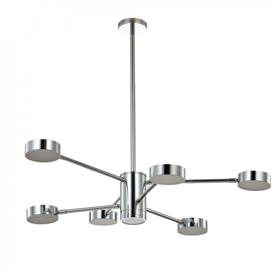 Светильник Crystal lux GORACIO SP6 D800 CHROME